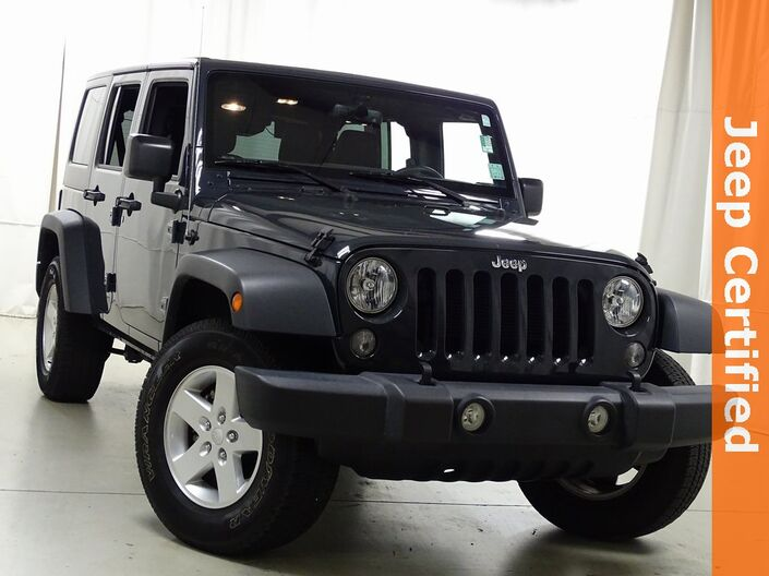 2017 Jeep Wrangler Unlimited Sport Raleigh NC
