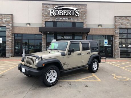 2017 Jeep Wrangler Unlimited Sport Springfield IL