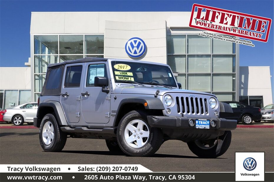 2017 Jeep Wrangler Unlimited Sport Tracy CA