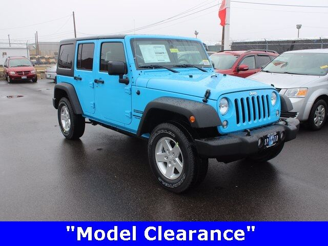 2017 Jeep Wrangler Unlimited Sport Mansfield OH