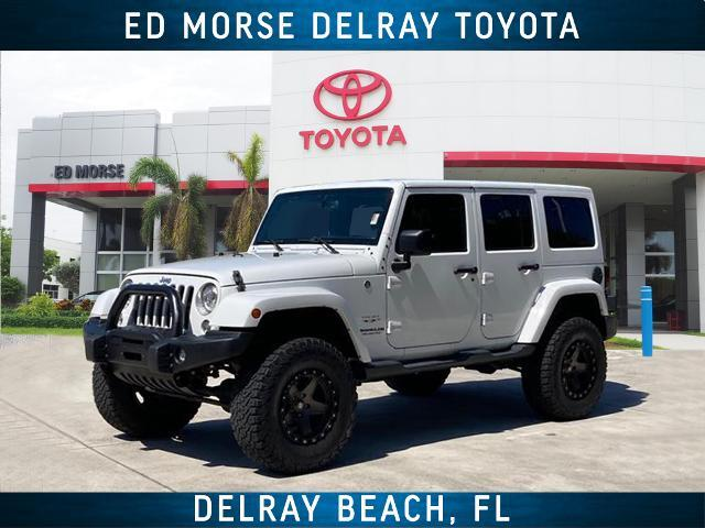 2017 Jeep Wrangler Unlimited Unlimited Sahara Delray Beach FL