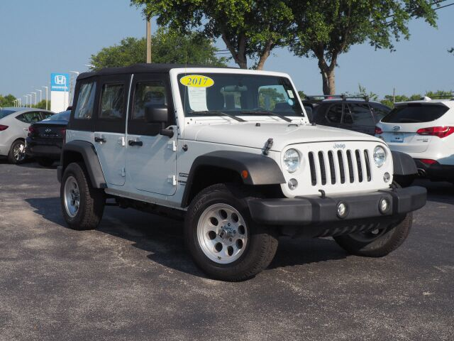 2017 Jeep Wrangler Unlimited Unlimited Sport Cocoa FL