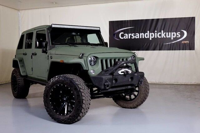 2017 Jeep Wrangler Unlimited Willys Wheeler Dallas TX