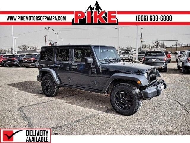 Used Jeep Wrangler Unlimited Amarillo Tx