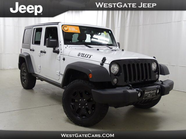 2017 Jeep Wrangler Unlimited Willys Wheeler Raleigh NC