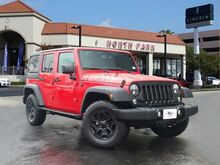 2017 Jeep Wrangler Unlimited Willys Wheeler San Antonio TX