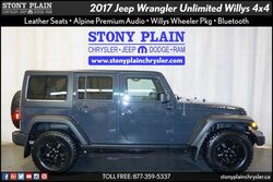 Jeep Wrangler Unlimited Willys Wheeler 2017