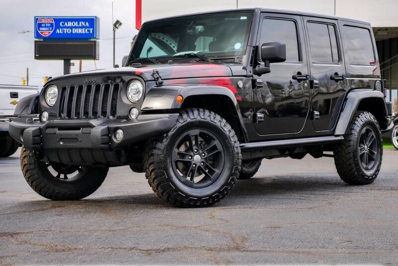 2017 Jeep Wrangler Unlimited Winter Edition 4X4 Hard Top w/ Heated Front Seats & Remote Start Mooresville NC