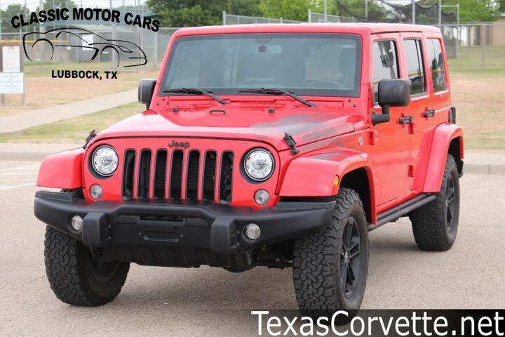 2017 Jeep Wrangler Unlimited Winter Edition Lubbock TX