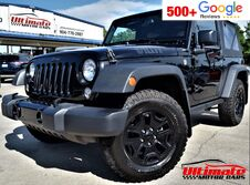 Jeep Wrangler Willys Wheeler 4x4 2dr SUV 2017