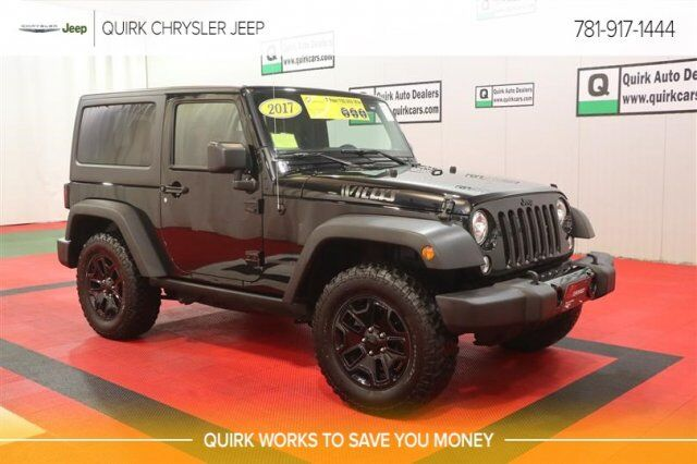 2017 Jeep Wrangler Willys Wheeler Braintree MA