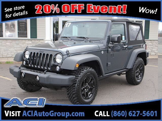 2017 Jeep Wrangler Willys Wheeler East Windsor CT