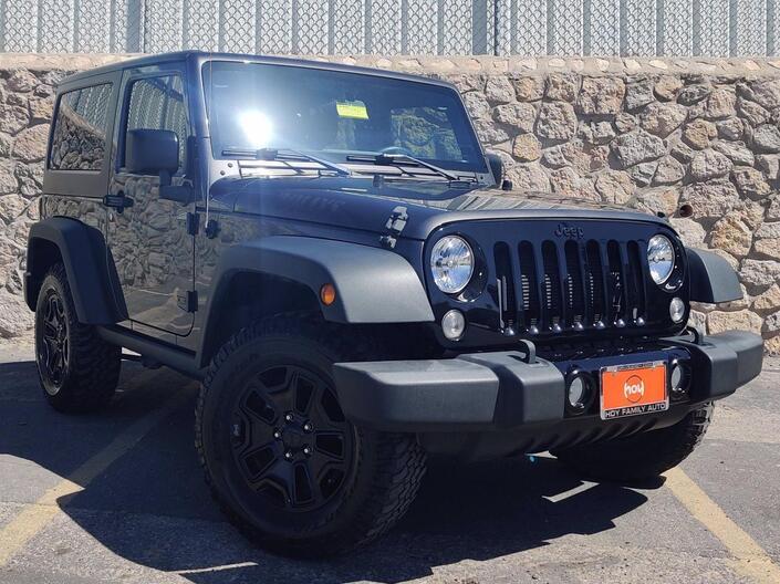 2017 Jeep Wrangler Willys Wheeler El Paso TX