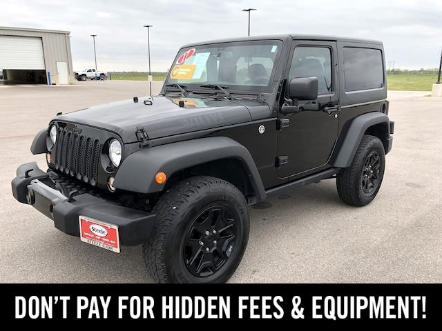 2017 Jeep Wrangler Willys Wheeler Lockhart TX