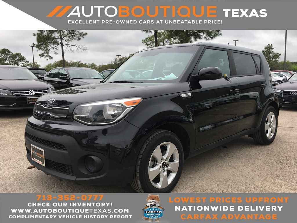 2017 KIA SOUL BASE Houston TX