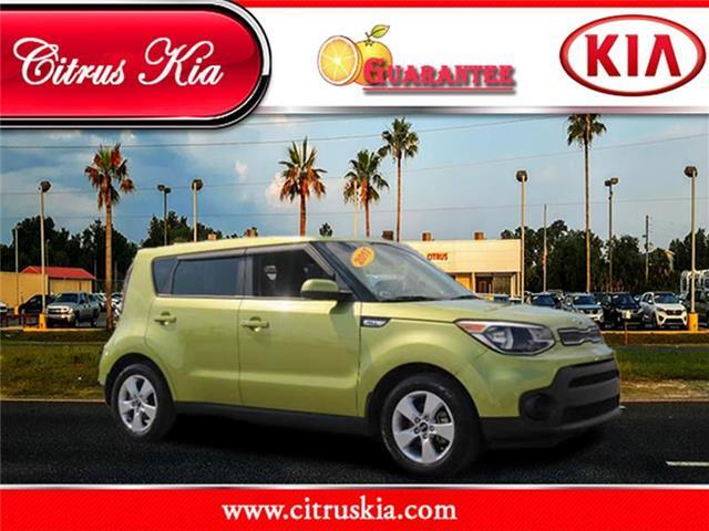 2017 KIA Soul Base (M6) Hatchback Crystal River FL