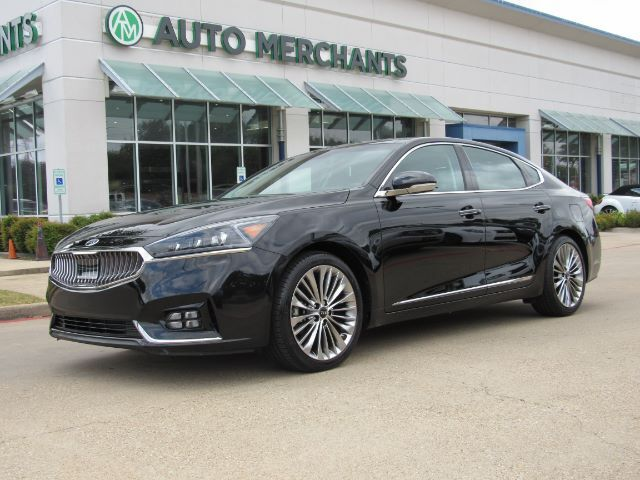 2017 Kia Cadenza Limited, PANORAMIC, BLIND SPOT, NAV, LANE DEPART, HEADS UP, BACKUP CAM, 360 VIEW, HTD/COOL SEATS Plano TX