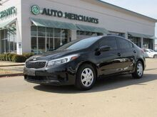 2017_Kia_Forte_LX 6A 1.8L 4CYL AUTOMATIC, BLUETOOTH CONNECTION, AUX INPUT, AUTOMATIC HEADLIGHTS, KEY-LESS ENTRY_ Plano TX