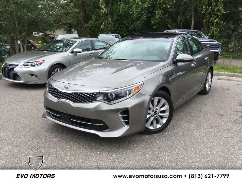 2017 Kia Optima EX PREMIUM PLUS PKG. TECH PKG. PANO. NAV. COOLED SEATS Seffner FL