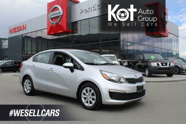 2017 Kia Rio LX+, FWD, Low Km's, Heated Front Seats, No Accidents Kelowna BC