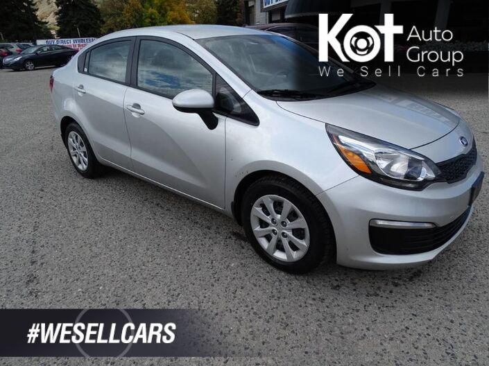 2017 Kia Rio LX+ HEATED SEATS! LOCAL UNIT! VERY CLEAN! Kelowna BC