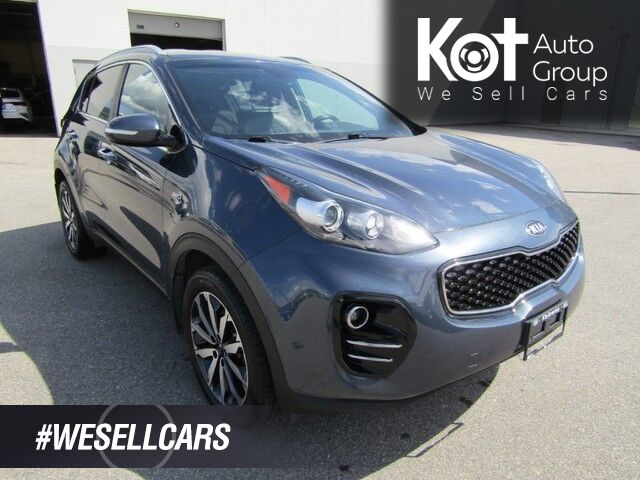 2017 Kia SPORTAGE EX PREMIUM! LEATHER! REMOTE STARTER! 1 OWNER! NO ACCIDENTS! BEAUTY UNIT! Kelowna BC