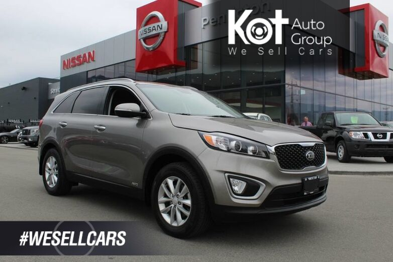 2017 Kia Sorento AWD, LX, Low Km's, Heated Seats, No Accidents, Great Family Vehicle Kelowna BC