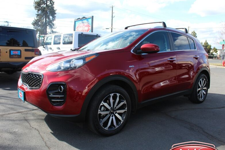 2017 Kia Sportage AWD 4dr EX Tech w/Black Bend OR