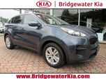 2017 Kia Sportage LX, Remote Keyless Entry, Rear-View Camera, Touch Screen Audio, Bluetooth Technology, Front Bucket Seats, Split Folding Rear Seats, HID Headlights, 17-Inch Alloy Wheels,
