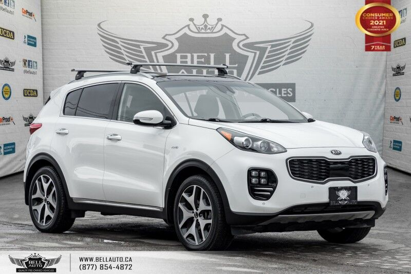 2017 Kia Sportage SX Turbo, NO ACCIDENTS, AWD, NAVI, PANO ROOF, REAR CAM. Toronto ON