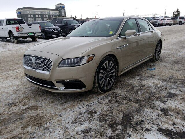 2017 LINCOLN Continental RESERVE AWD WITH MOONROOF Calgary AB