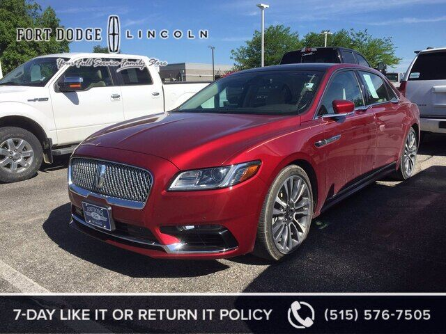 2017 LINCOLN Continental Reserve Fort Dodge IA