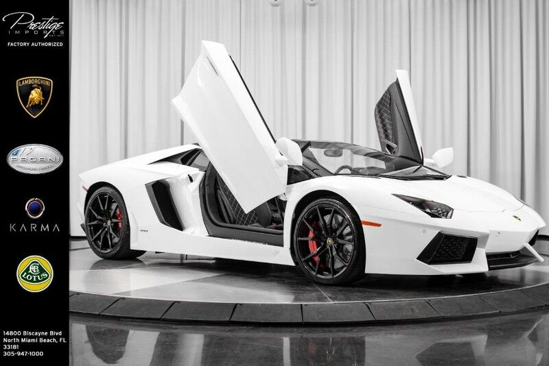 2017_Lamborghini_Aventador_Roadster_ North Miami Beach FL