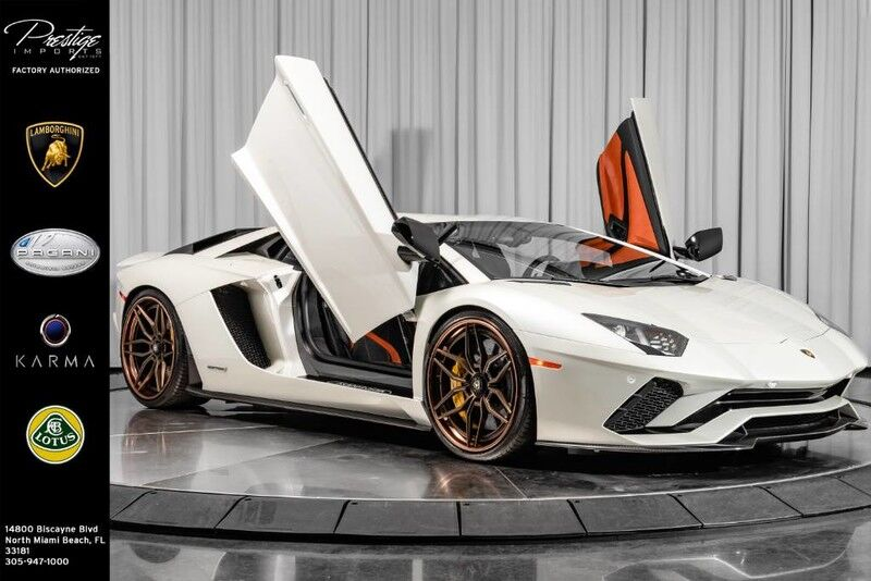 2017_Lamborghini_Aventador_S_ North Miami Beach FL