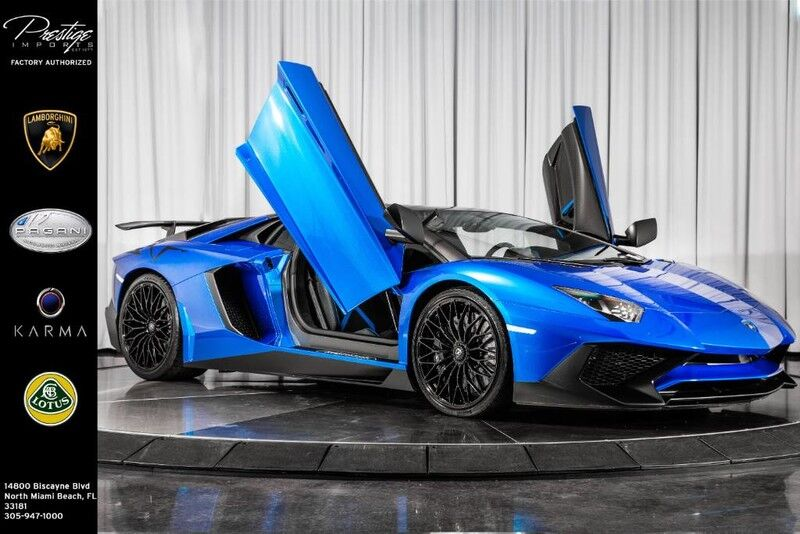 2017_Lamborghini_Aventador_SV_ North Miami Beach FL