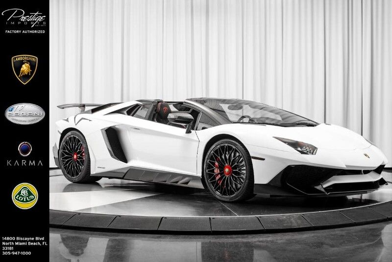 2017_Lamborghini_Aventador_SV Roadster Novitec Kit_ North Miami Beach FL