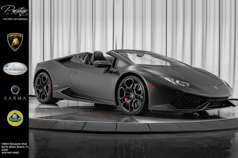 2017_Lamborghini_Huracan__ North Miami Beach FL