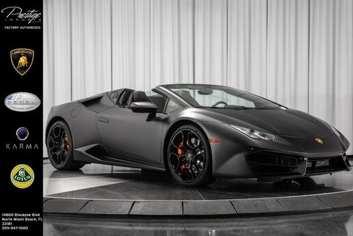 2017 Lamborghini Huracan  North Miami Beach FL