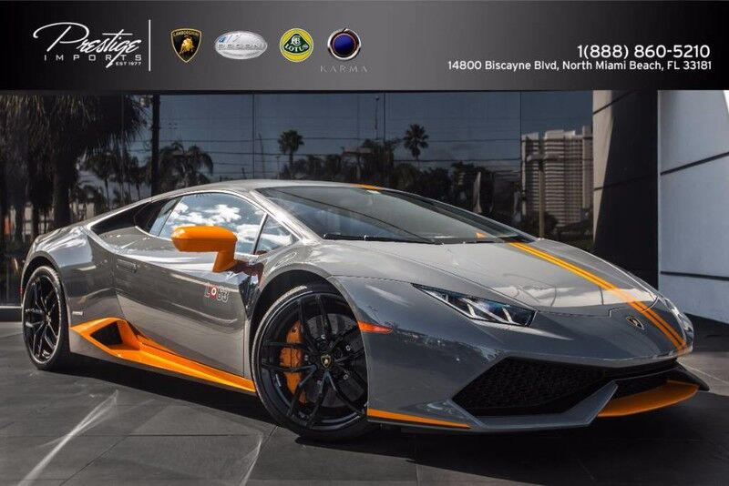 2017_Lamborghini_Huracan Avio Limited Edition_LP 610-4_ North Miami Beach FL