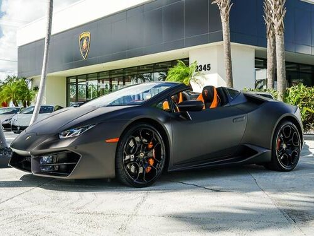 Lamborghini Huracan LP580-2 Spyder 2017