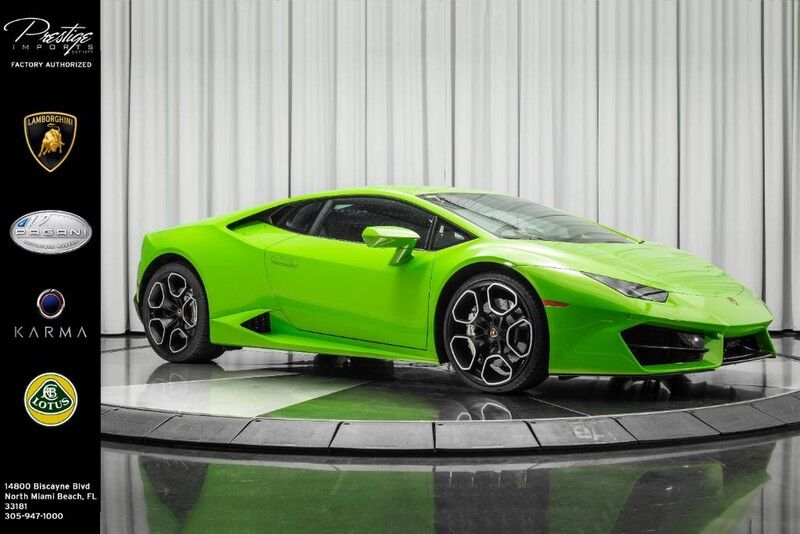 2017 Lamborghini Huracan RWD Coupe  North Miami Beach FL