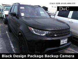 2017 Land Rover Discovery HSE Black Design Package Backup Camera