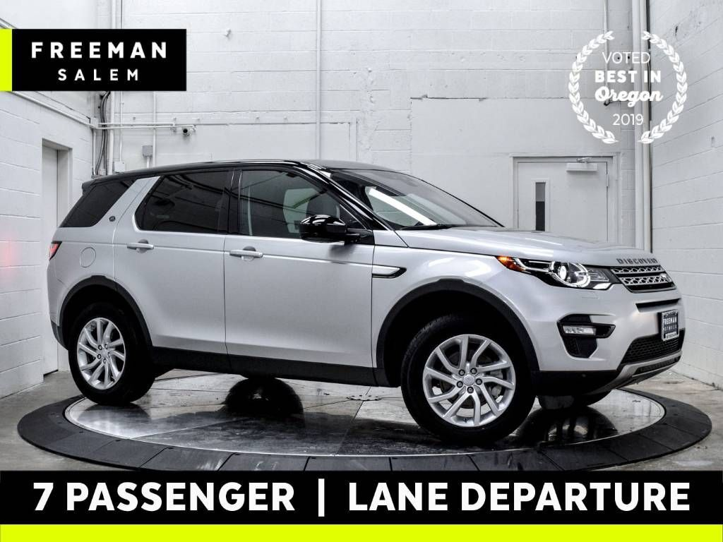 2017 Land Rover Discovery Sport HSE 3rd Row Lane Departure Warning