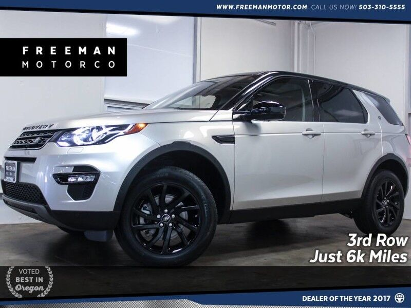 2017 Land Rover Discovery Sport HSE 3rd Row Seat Backup Cam 6k Miles Portland OR