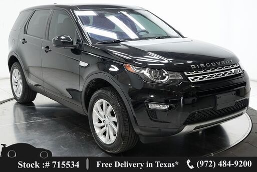 2017_Land Rover_Discovery Sport_HSE CAM,PANO,PARK ASST,18IN WLS,HID LIGHTS_ Plano TX