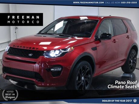 2017 Land Rover Discovery Sport HSE Lux Dynamic Design Pkg Pano Climate Seats Portland OR