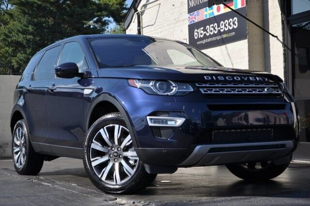 2017 Land Rover Discovery Sport HSE Luxury/AWD/Driver Assist Plus Pkg w/ Navi, Lane Keep Assist, Rearview Camera/Cold Climate Pkg w/ Heated & Ventilated Seats, Heated Steering Wheel/Convenience Pkg w/ Keyless Entry/Meridian Sound Nashville TN