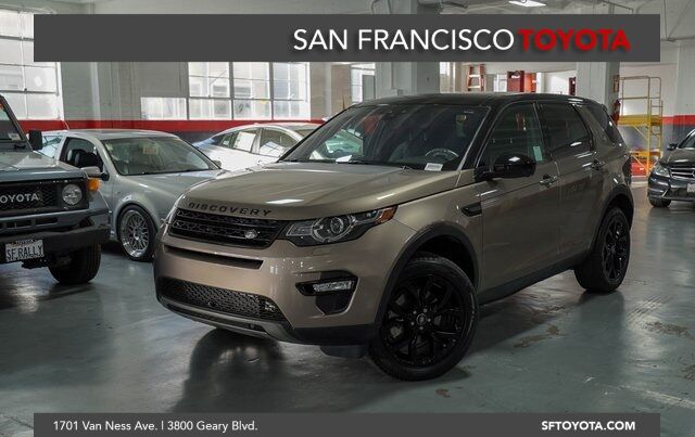 2017 Land Rover Discovery Sport HSE Luxury San Francisco CA