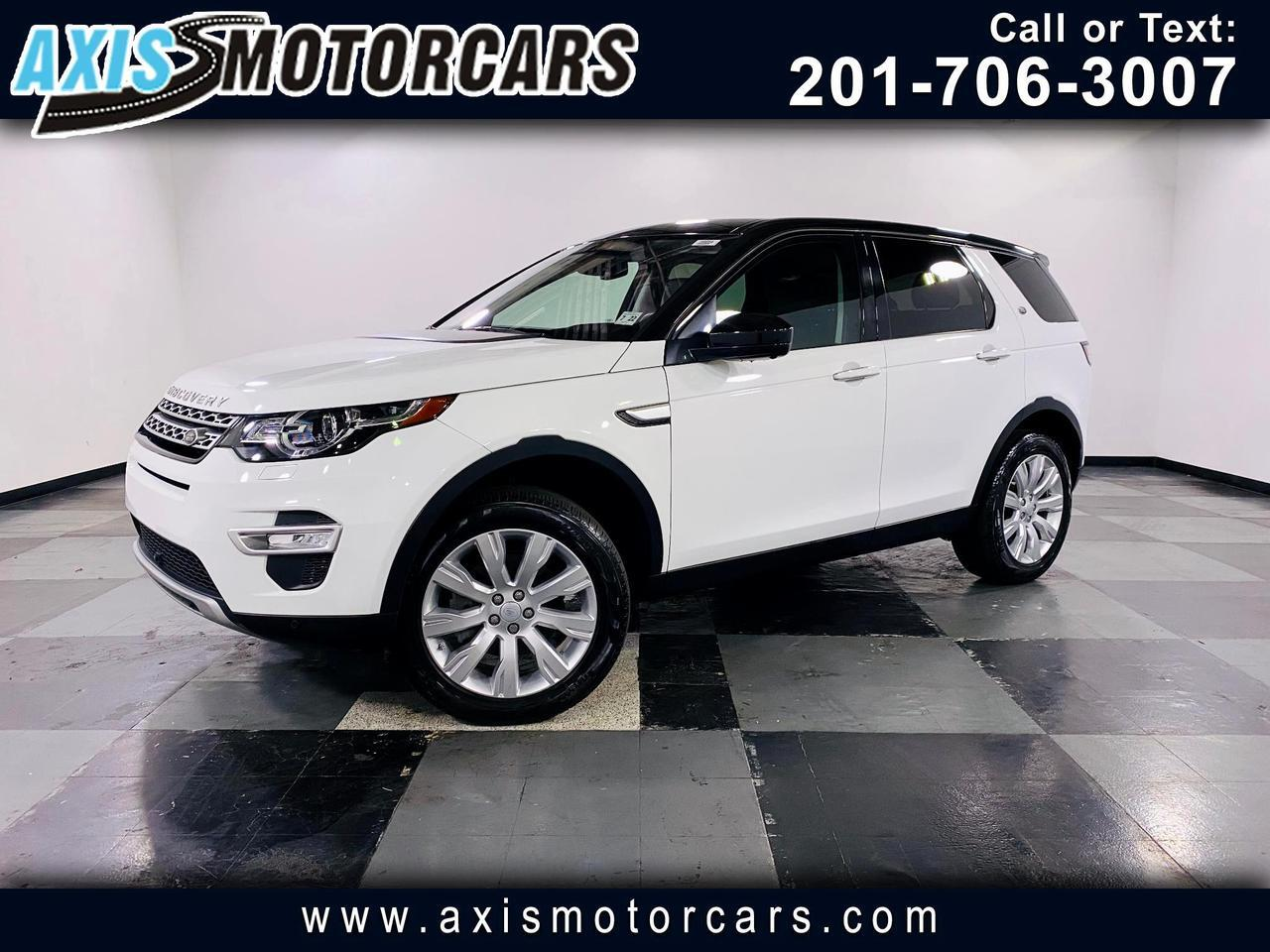 2017 Land Rover Discovery Sport HSE w/Backup Camera360 Navigation Panoramic Roof Jersey City NJ