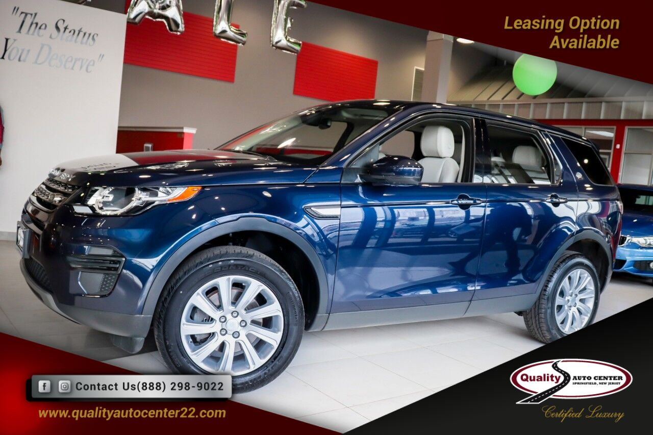 2017 Land Rover Discovery Sport SE Climate Comfort 3rd Row Package Navigation 1 Owner Springfield NJ